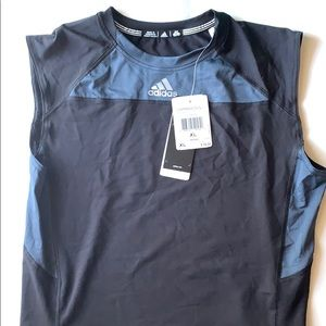 Men's Adidas compression base layer shirt size XL